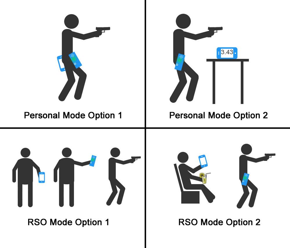 shot timer modes