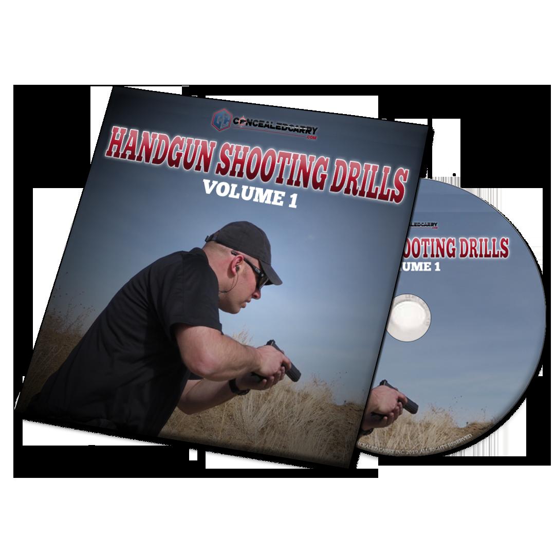 ConcealedCarry.com Handgun Shooting Drills Volume 1 DVD