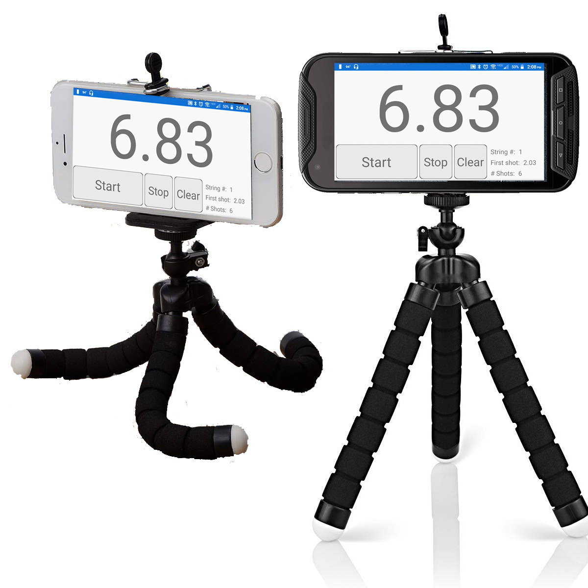 Mini Portable Tripod With Phone Mount